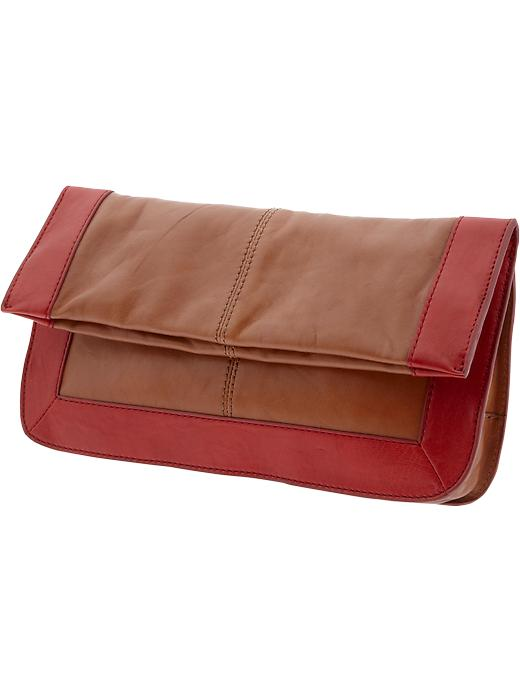 Banana Republic Maya Colorblock Clutch