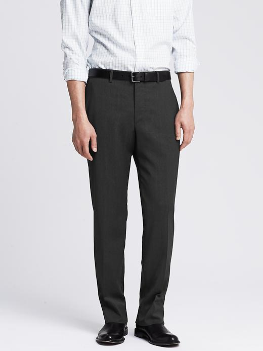 Banana Republic Men's New Charcoal Wool Suit Pants