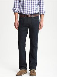 Boot-cut indigo jean