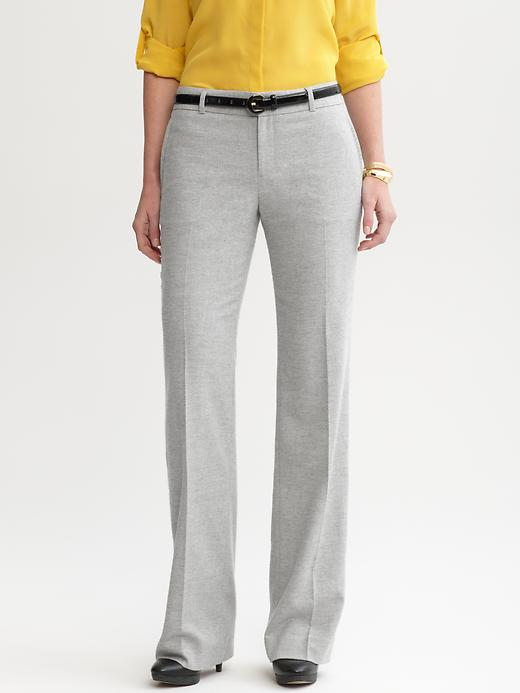 Martin Fit Grey Flannel Trouser