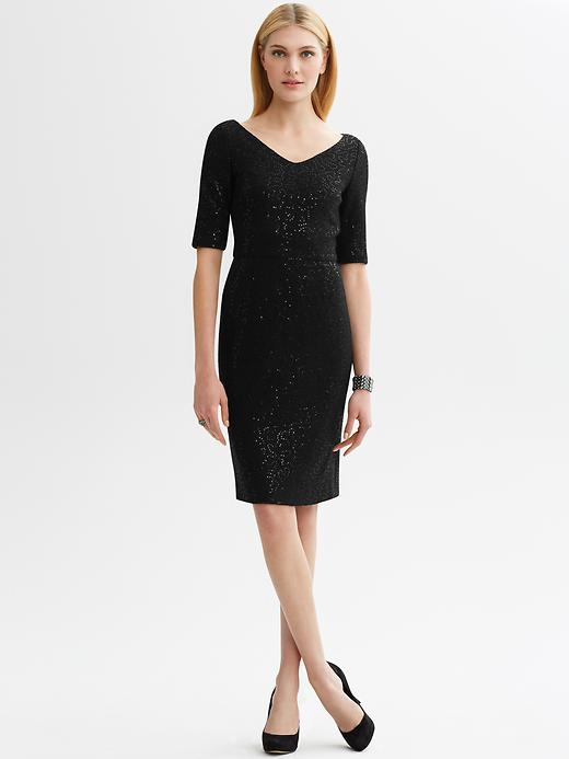 Banana Republic Sequin Sheath
