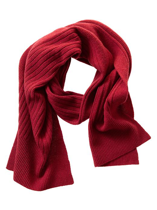 Banana Republic Ribbed Merino Wool Scarf