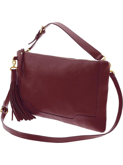 Evan Convertible Leather Crossbody