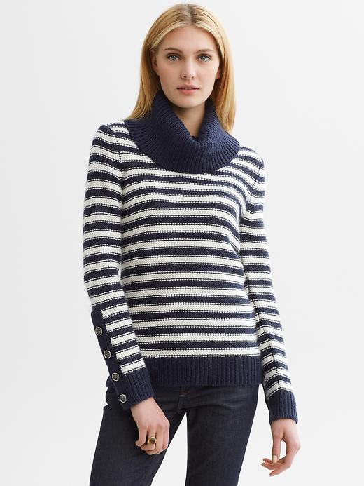 Banana Republic Heritage Button-Sleeve Pullover