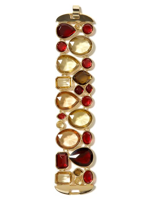 Banana Republic Candy Stone Row Bracelet