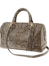 Evan exotic satchel