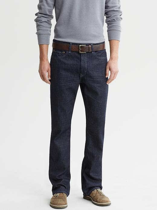 Banana Republic Boot-cut Dark-wash Jeans