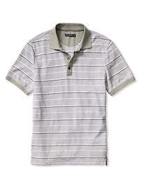 Mad Men® Collection Plaid Piqué Polo