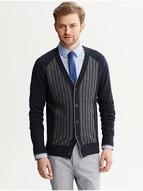 Mad Men® Collection Textured Cardigan