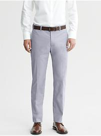 Mad Men® Collection Tailored Slim Micro-Check Pant