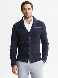 Mad Men® Collection Shawl-Collar Cardigan