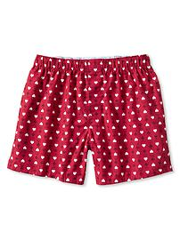 Heart and arrow print boxer