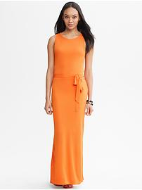 Orange Patio Dress