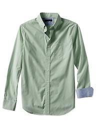 Tailored Slim-Fit Soft-Wash Micro-Check Shirt