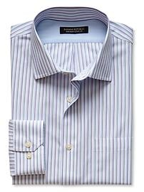 Classic-Fit Non-Iron Multi-Stripe Shirt