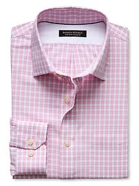 Classic-Fit Non-Iron Gingham Shirt