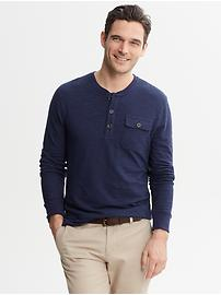 Chest-Pocket Henley
