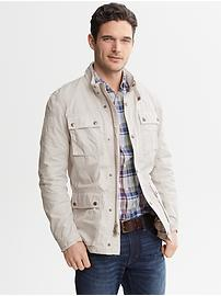 Heritage Belted Four-Pocket Jacket