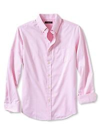 Soft-wash slim fit twill shirt