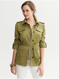 Heritage Belted Safari Jacket