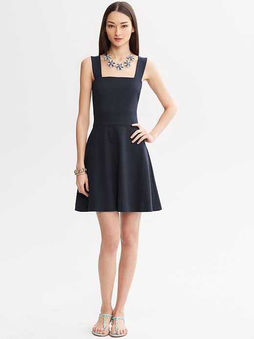 Banana Republic Milly Collection Fit And Flare Dress