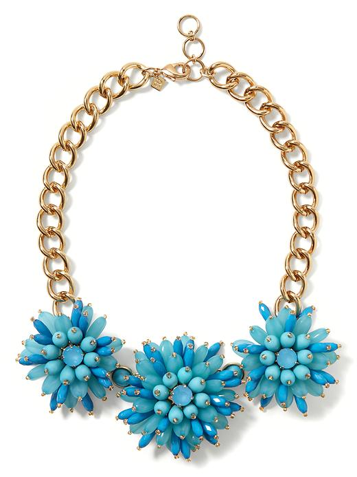 Banana Republic Dahlia Burst Necklace