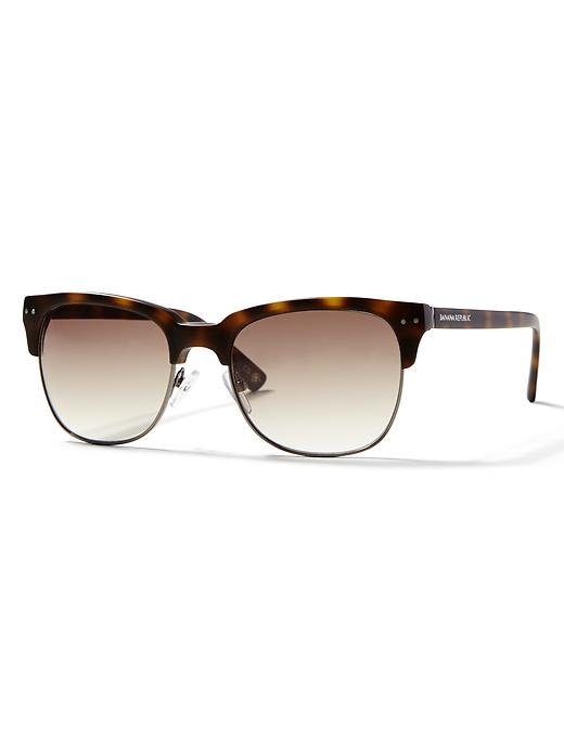 Banana Republic Mens Xavier Sunglasses Size One Size - Sienna
