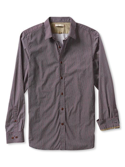 Banana Republic Heritage Honeycomb Button Down Shirt - Comet blue