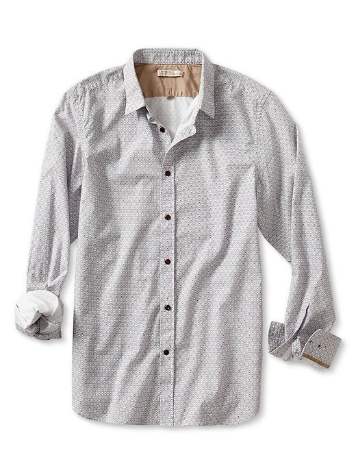 Banana Republic Heritage Vintage Print Button Down Shirt - Tarpoon