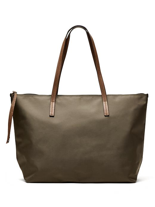 Banana Republic Womens Nylon Tote Size One Size - New olive