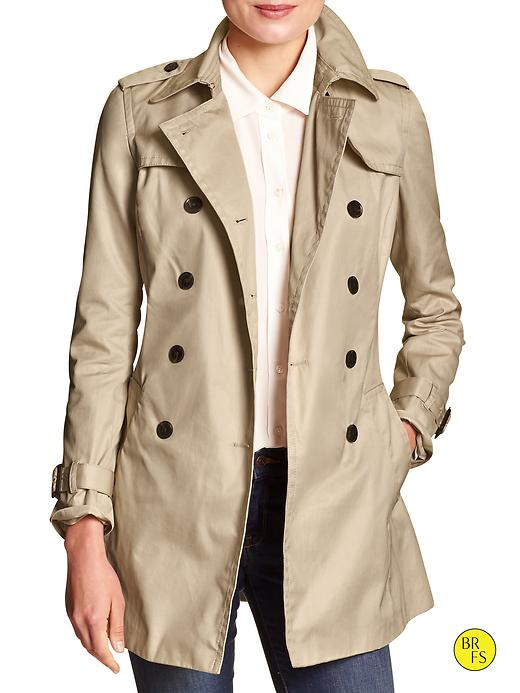 Banana Republic Factory Trench Coat Size M - Trench
