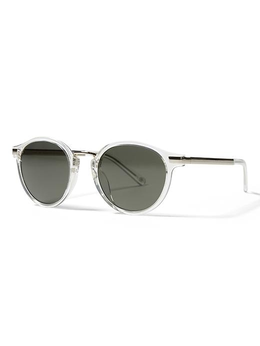 Banana Republic Evan Sunglasses Size One Size - Crystal