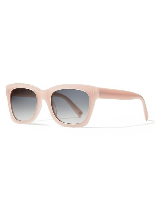 Banana Republic Margeaux Sunglasses Size One Size - Pink