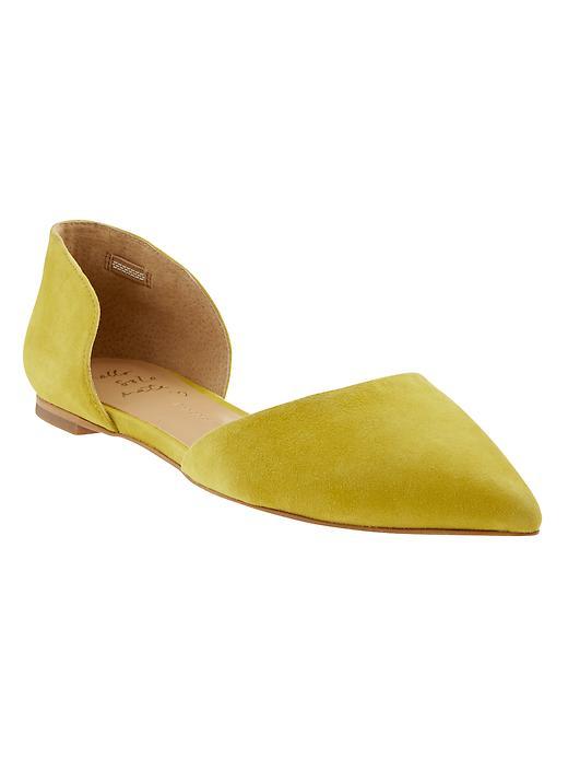 Banana Republic Aiden D'orsay Flat Size 9 1/2 - Yellow