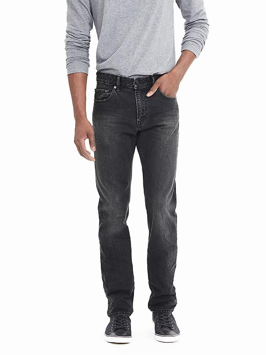 Banana Republic Slim Black Jean Size 29W 30L - Black