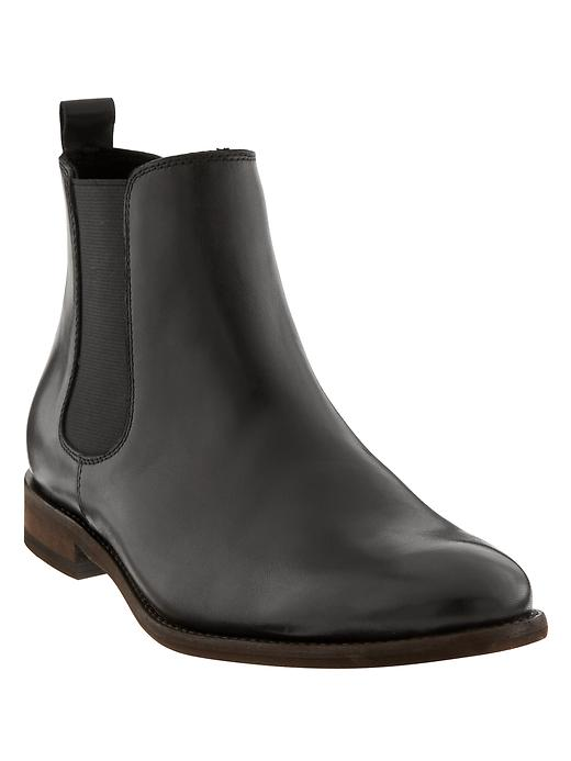 Banana Republic Mens Ty Chelsea Boot Size 12 - Black