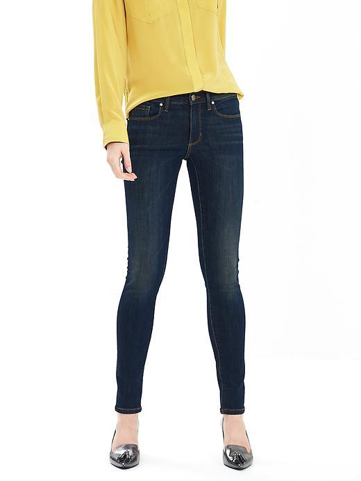 Banana Republic Washed Indigo Skinny Jean Size 0 Petite - Washed indigo
