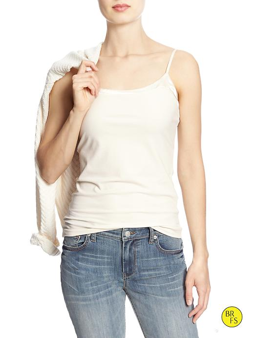 Banana Republic Factory Nina Camisole Size M - Sugar cookie white