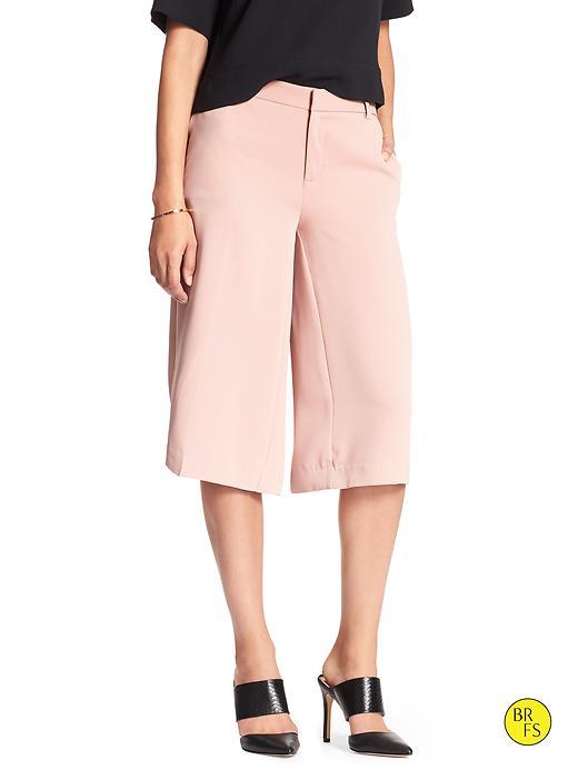 Banana Republic Factory Wide Leg Culotte Size 0 - Blushing pink