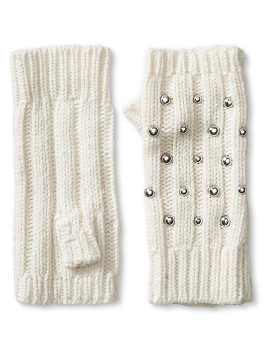 Banana Republic Studded Fingerless Glove Size One Size - Snow day