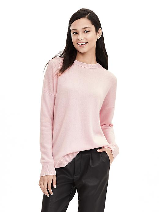 Banana Republic Womens Todd & Duncan Cashmere Pullover Size S - Cherry blossom pink