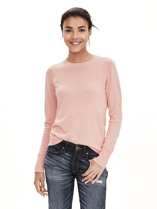 Banana Republic Italian Cashmere Blend Sweater Pullover Size S - Pop pink