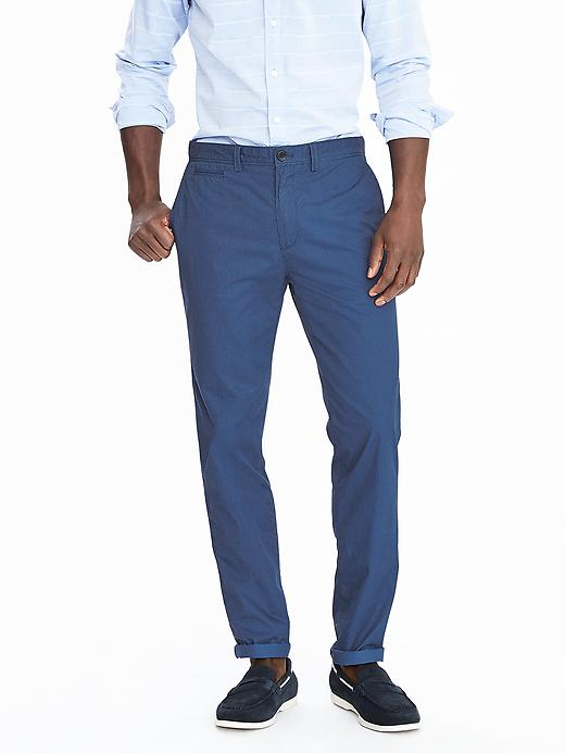 Emerson Lightweight Vintage Straight Print Chino