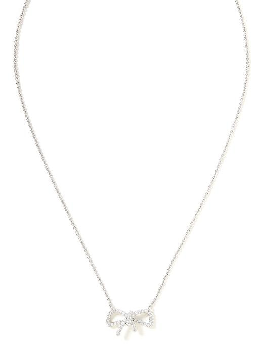 Banana Republic Bow Necklace Size One Size - Pavement global