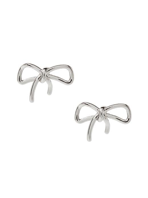 Banana Republic Bow Earring Size One Size - Pavement global