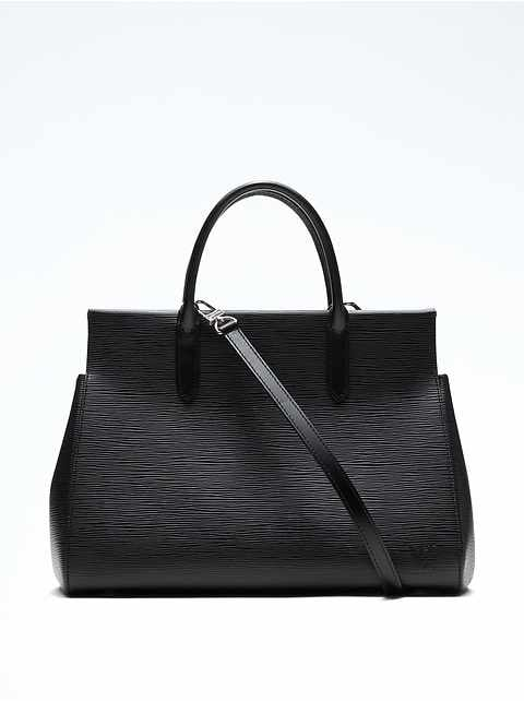 LUXE FINDS &#124 Louis Vuitton Black Epi Marly Mm
