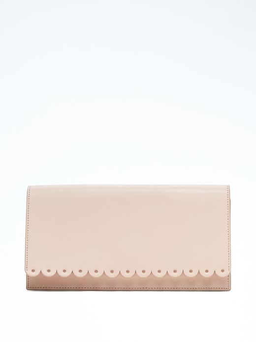 Banana Republic Rechargeable Scalloped Clutch Size One Size - Pink blush