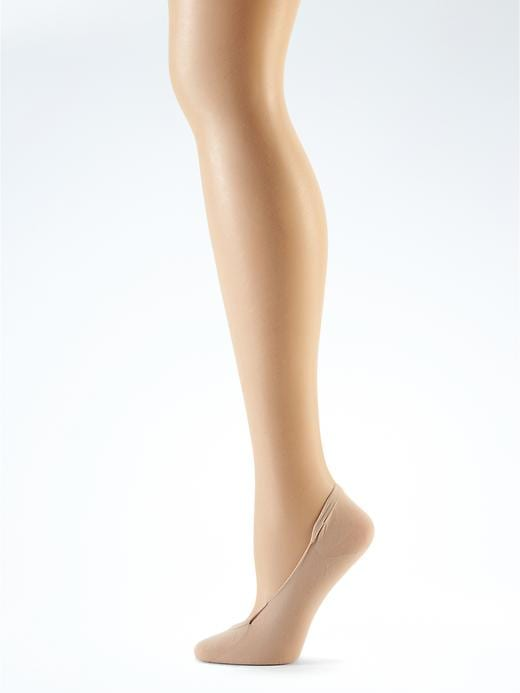 Banana Republic Breeze Seamless Liner Sock Size One Size - Nude