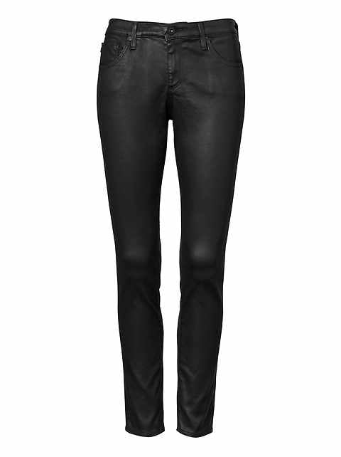 AG Jeans &#124 Leatherette Legging Ankle Jean