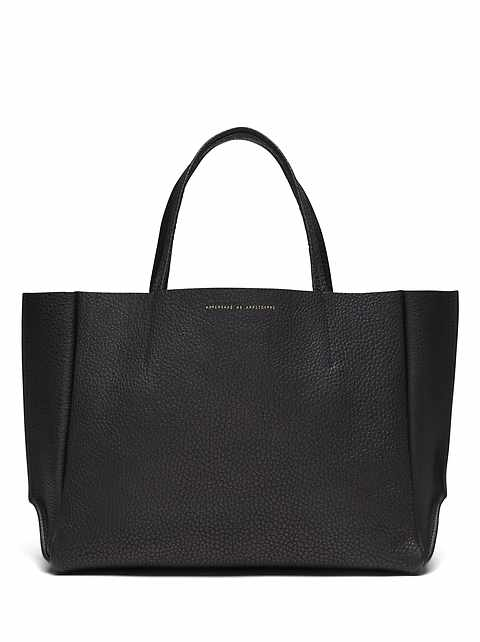 Ampersand as Apostrophe &#124 Buffalo Large Sideways Tote